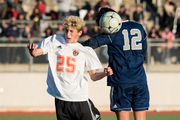 Harrison boys soccer down and out in state tourney