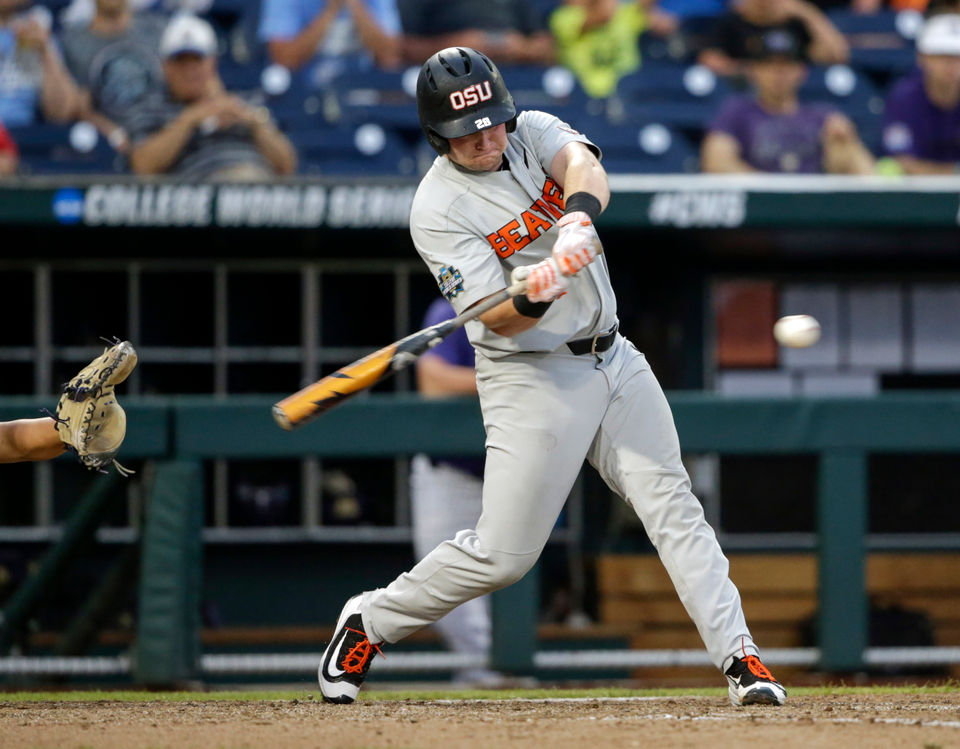 Oregon State vs. Washington at 2018 College World Series