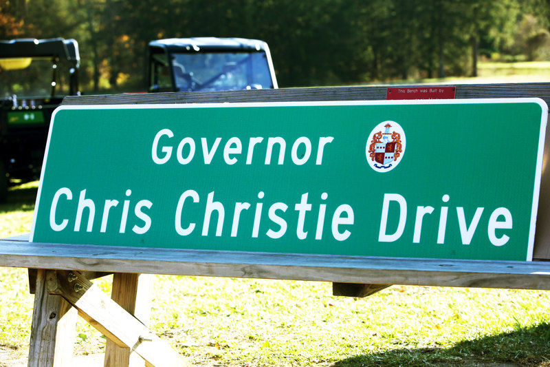 Take a cruise on 'Governor Chris Christie Drive'