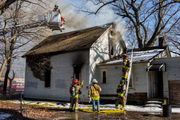 Fire guts vacant Muskegon Heights house