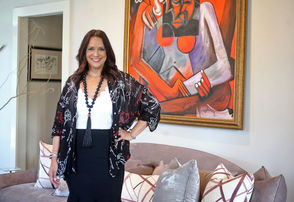 "Taking a tour of Penny Francis' home is like taking a master class in eclectic interior design. Pay close attention, and it becomes a lesson in how to mix styles and how to do it right.  ""There's all sorts of things that go into the process that are lost when you hear the word 'eclectic,'"" says Penny, whose name has become synonymous with the word as the owner and principal designer of Eclectic Home, an Oak Street staple for the last two decades.  Those things -- properties of scale, balance, cohesion, to name a few -- are hard at work in the home Penny and her husband, Todd Francis, purchased and remodeled in 2013. Their home can be toured along with six other homes in their Audubon Park-adjacent neighborhood on Saturday as part of the New Orleans Architecture Foundation's third annual fall home tour. An example of her eclectic mastery, Penny's living room features a modern Italian curved-back sofa paired with three different pairs of chairs that span the eras -- traditional neoclassical, transitional and midcentury modern."