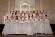 Thirty young ladies presented at 2018 Mid-Winter Cotillion
