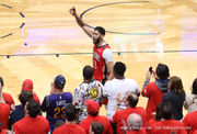 Sweep City: Pelicans put exclamation point on statement series