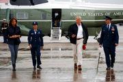 Trump inspects Hurricane Michael damage in Florida