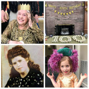Family wears gold for a fashionable matriarch's 100th birthday