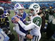 Jets' Sam Darnold bests Bills' Josh Allen in first meeting | Evaluating both rookies
