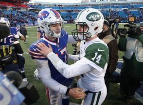 Orchard Park, N.Y. --The anticipated battle between Sam Darnold and Josh Allen wasn't exactly the stuff of legend Sunday at New Era Field. But there were glimpses of what could be to come over the next few years in this renewed rivalry between the Buffalo Bills and New York Jets. Allen ran the ball like a Pro Bowl running back for the third straight week. Darnold had a safe, efficient outing with a fourth-quarter, game-winning drive to give his Jets a 27-23 win to even the season series between the two teams. Let's break down the game from both Allen and Darnold.