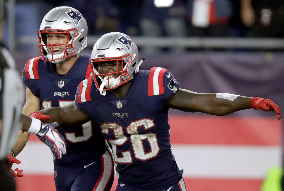 Start Patriots Rb Sony Michel