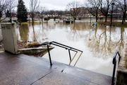 Bird's-eye view shows flooding across Saginaw County