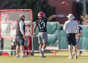Alabama practice report: Notes on o-line, DBs, more