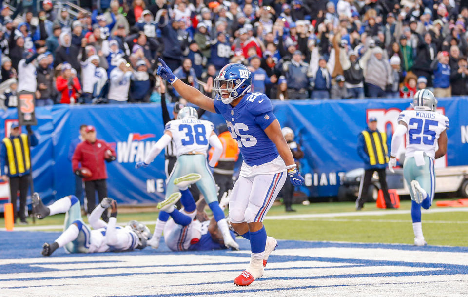 hot sale online a5dbf 4db90 Giants 2018 rookies class gave reason to be optimistic about ...