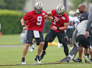 New Orleans Saints hit the field for OTA's: photo gallery