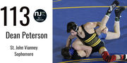 Wrestling: New No. 1 at 113 pounds; familiar faces return to Top 8 by weight