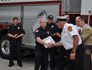 Springfield firefighters honored for saving lives in Belmont Avenue apartment fire