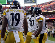 Without Antonio Brown, 5 ways the Steelers offense can adapt