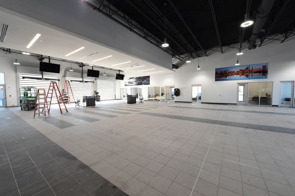 See Inside Nick Sabans New Mercedes Benz Dealership