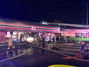2-alarm fire breaks out at 7-Eleven store in Bethany