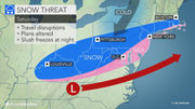 Interview with a forecaster: Will snow stick Saturday?