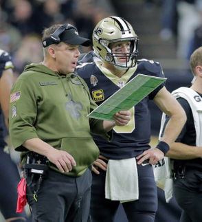 The meeting of the minds was everything it was cracked up to be the last time these two head coaches saw each other. Hailed as two of the most innovative offensive brains in football, Payton's Saints dropped 35 points on the Rams in the first half of the Week 9 matchup. McVay's Rams scored on each of their first three second-half possessions to tie the game up at 35. By the time the turf pellets settled at the Mercedes-Benz Superdome, the Saints and Rams combined to score 80 points, with New Orleans handing Los Angeles its first loss of the season in a 45-35 thriller. It is fair to say both offenses have come back to earth a bit from the torrid pace they were setting in the middle of the season, but we're still talking about the NFC's two most potent offenses squaring off on a fast surface in perfect conditions. The two Seans go about it in different ways, but the end product is similar all the same.