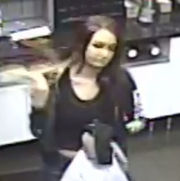 Woman sought in connection with attempted salon break-in