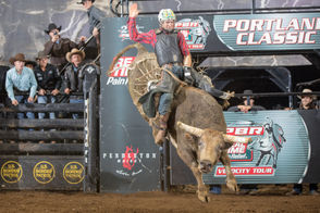 """Fittingly part of something called the """"Velocity Tour,"""" this event includes a lot of bull handled by professional cowboys with tons of bovine talent. 7 p.m. Saturday, Jan. 19; Moda Center, 1 Center Court.; $15-$100; rosequarter.com"""