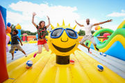 The biggest bounce house in the country is coming to Northeast Ohio -- and it's not just for kiddos