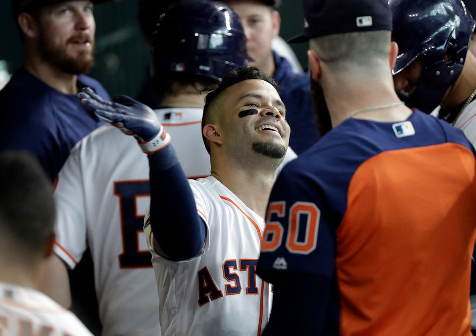 Cleveland Indians at Houston Astros, ALDS Game 1: Results of