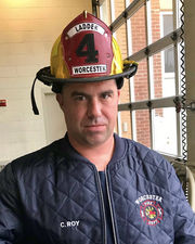 Friends remember smile and 'boisterous personality' of fallen Worcester Firefighter Christopher Roy