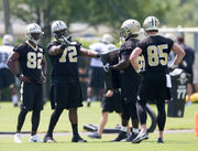 How can Saints' offensive line be better than last year?