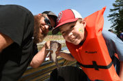 Special needs kids get to fish at Oak Mountain State Park