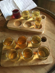 Dates on a tandem bike inspired this Northern Michigan upscale cidery