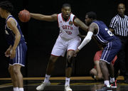 Lee-Montgomery senior gave up football to chase hoop dreams