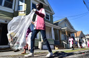 Earth Day clean up on Syracuse's Northside (photos)