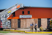 Harvey business damaged in fire, Fox 8 says