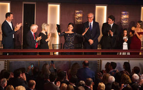 Photos from the 2018 Mark Twain Prize event, awarded to actress Julia Louise-Dreyfus.