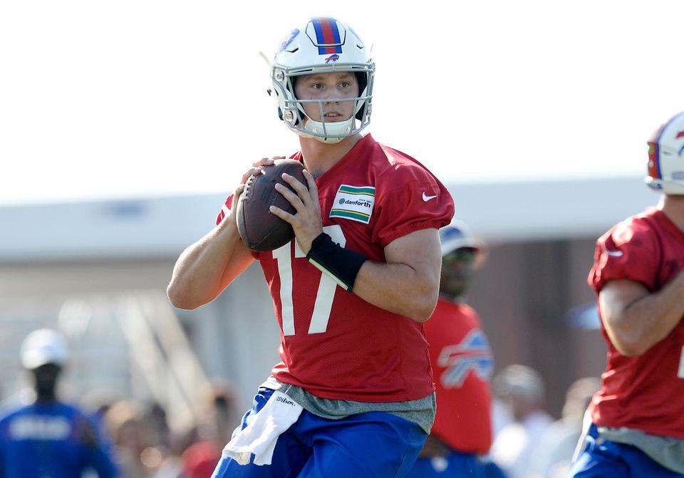 pretty nice d6015 74571 Buffalo Bills OTAs 2019 Week 3: Mitch Morse roars; Josh ...