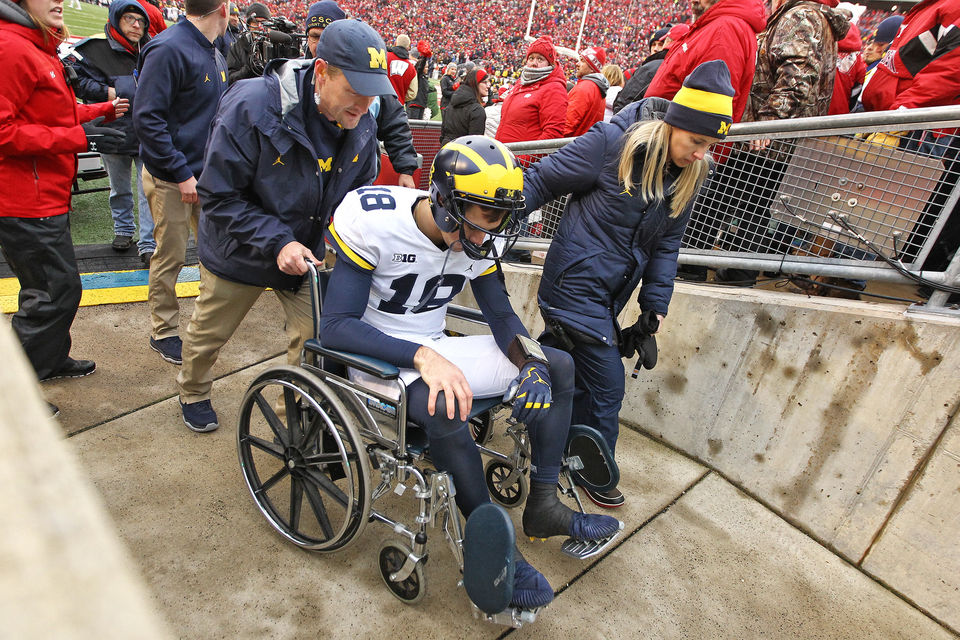 Brandon Peters Wheelchair