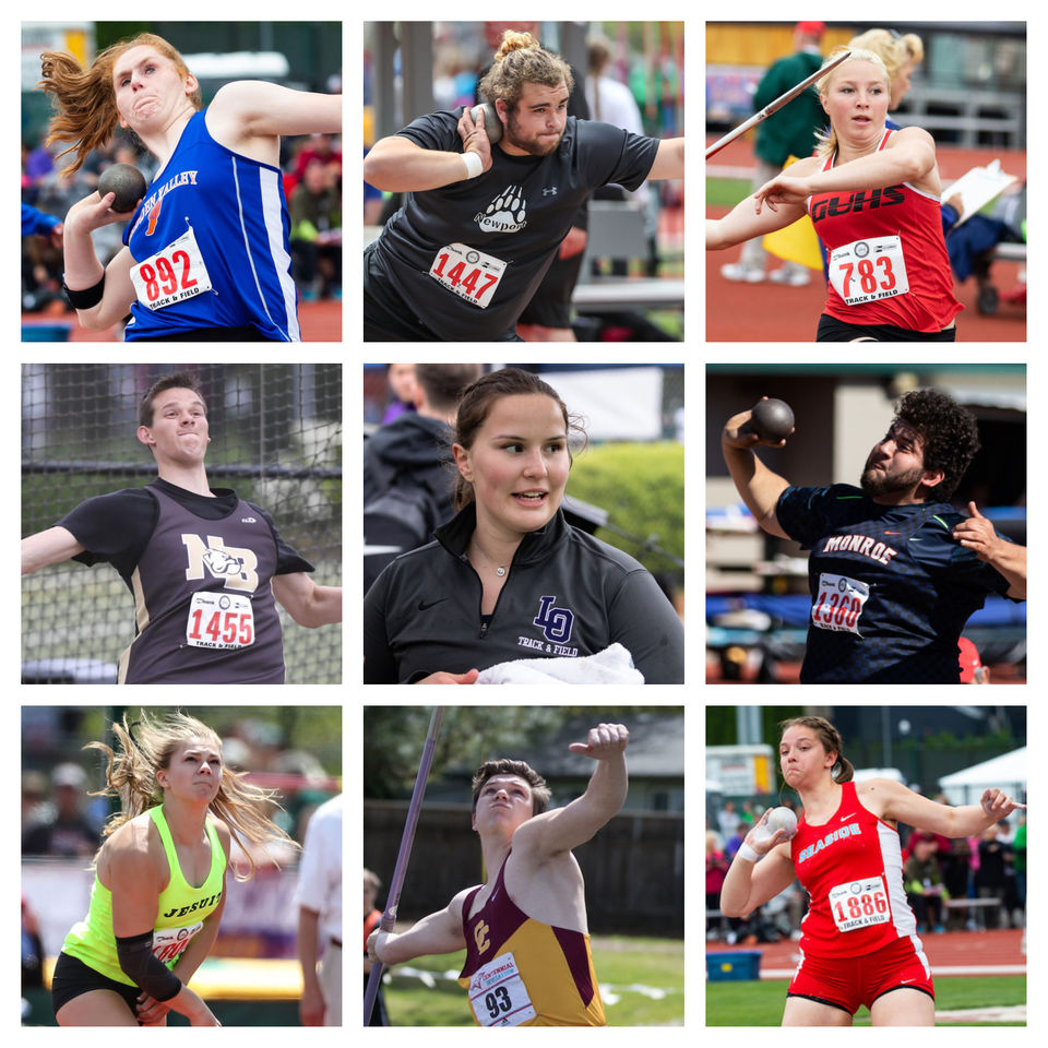 Oregon high school track and field: Meet the state's top throwers
