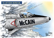 Editorial cartoons for Sept. 2, 2018: Sen. John McCain, Google, NAFTA