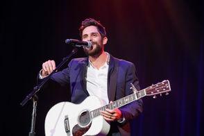 Thomas Rhett performs at the 2018 Nashville Songwriter Awards at Ryman Auditorium on Wednesday, Sept. 19, 2018, in Nashville, Tenn. (Photo by Al Wagner/Invision/AP)