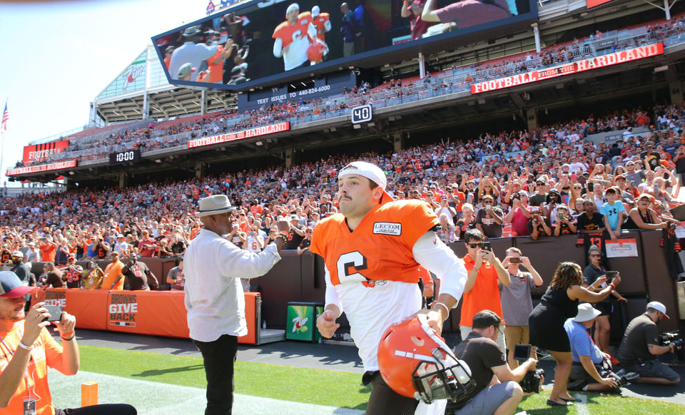 How Browns QB Baker Mayfield stacks up as the face of Cleveland sports: Doug Lesmerises 3rd & Short