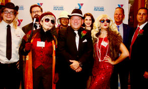 Scenes from the South Shore YMCA's first Murder Mystery Night in West Brighton