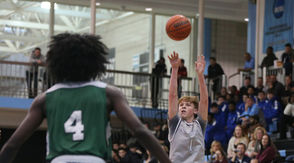 By CHARLIE De BIASE JR. Last week, SILive.com let our readers know who Staten Island's top returning scorers were in high school basketball. And this time, we're going to give you the scoop on who the top returning three-point shooters were from a year ago. Some names you've heard and some are new. The top 12 three-point shooters have connected for at least 20 shots from behind the arc with the top returner burying almost 70. Think you know who there are? Well, see how good you are and check out our slideshow. Enjoy! (Above, St. Joseph by-the-Sea's Gerard Nicholson gets off a shot)