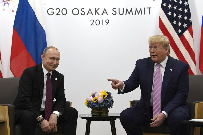 Smiling Trump tells Putin not to meddle in U.S. elections: A.M. News Links