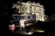 Homeowner recreates Griswold's 'Christmas Vacation' light display. There's even an RV!