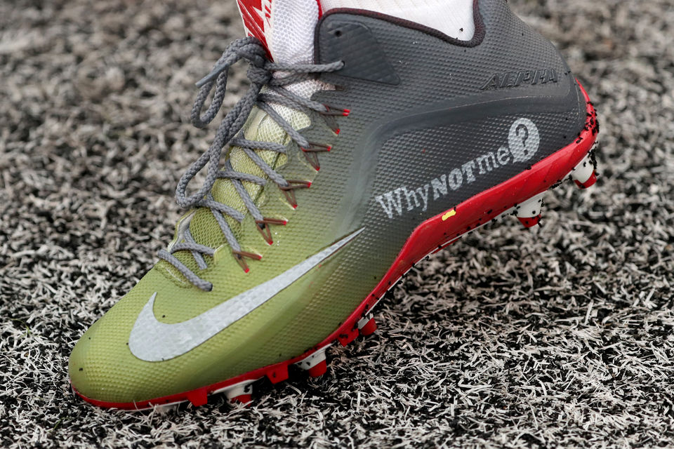 What did these Giants wear for 'My Cause, My Cleats' vs. Bears? Eli Manning, Saquon Barkley, more