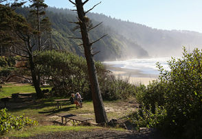 Campers: 131,053 Number of sites: 229 One-year change: +3% Location: Oregon coast