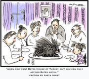 17 Thanksgiving porcupine caption contest winners