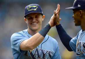 CLEVELAND, Ohio -- Acquired Friday in a three-team trade with Seattle and Tampa Bay, 23-year-old Jake Bauers will join the Cleveland Indians from the Rays along with ex-Tribe Infielder Carlos Santana from the Mariners. Indians fans are already quite familiar with Santana, who played his first eight big-league seasons in Cleveland. But they might need an introduction to Bauers, who was one of Tampa's top prospects the last few seasons. Standing 6-foot-1 and weighing in at 195 pounds, Bauers bats and throws left-handed. He hit .201 with 11 home runs and 48 RBI in 96 games for Tampa last season, finishing his rookie campaign with a .700 OPS and an OPS+ of 94. Drafted in 2013 in the seventh round of the first-year player draft by San Diego, Bauers was traded to Tampa in 2014 and steadily rose through the Rays' farm system before breaking through on June 7 against Seattle. Below is a rundown of what Bauers brings to the Indians.