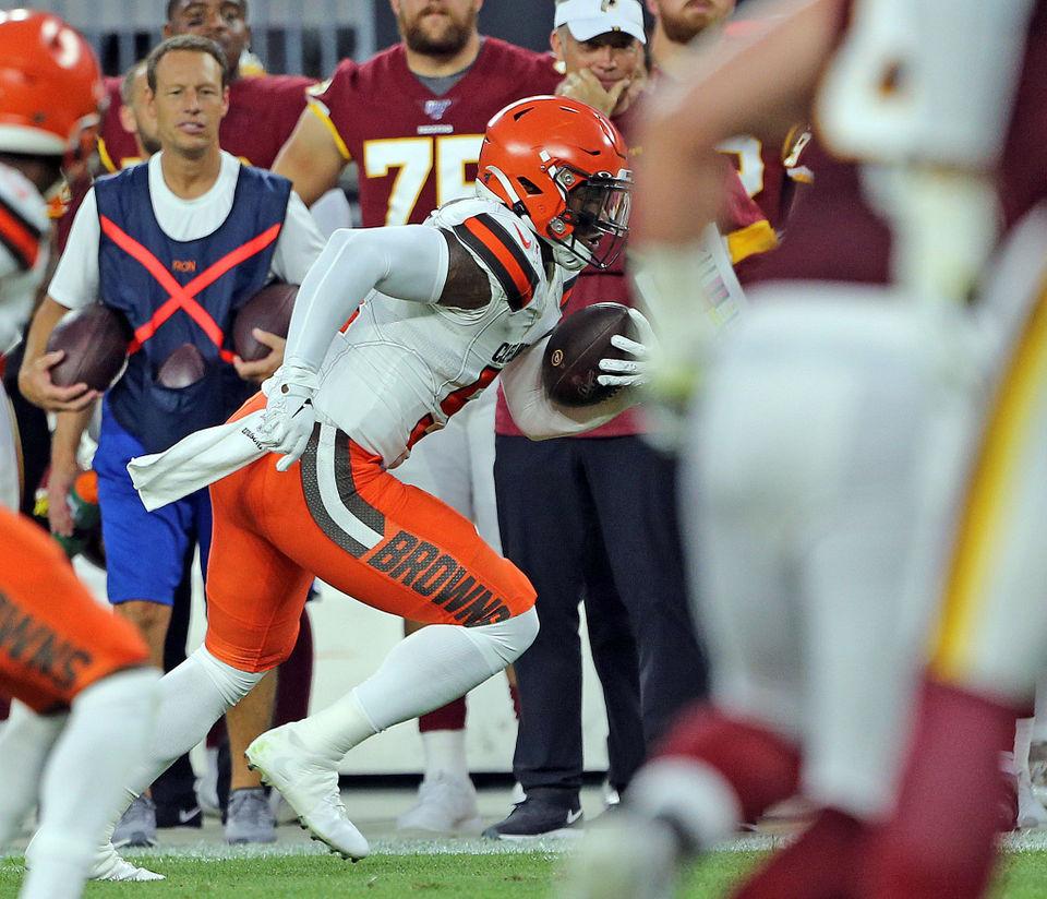 f5d3721e Browns vs. Redskins defensive report: Mack Wilson, Greedy Williams ...